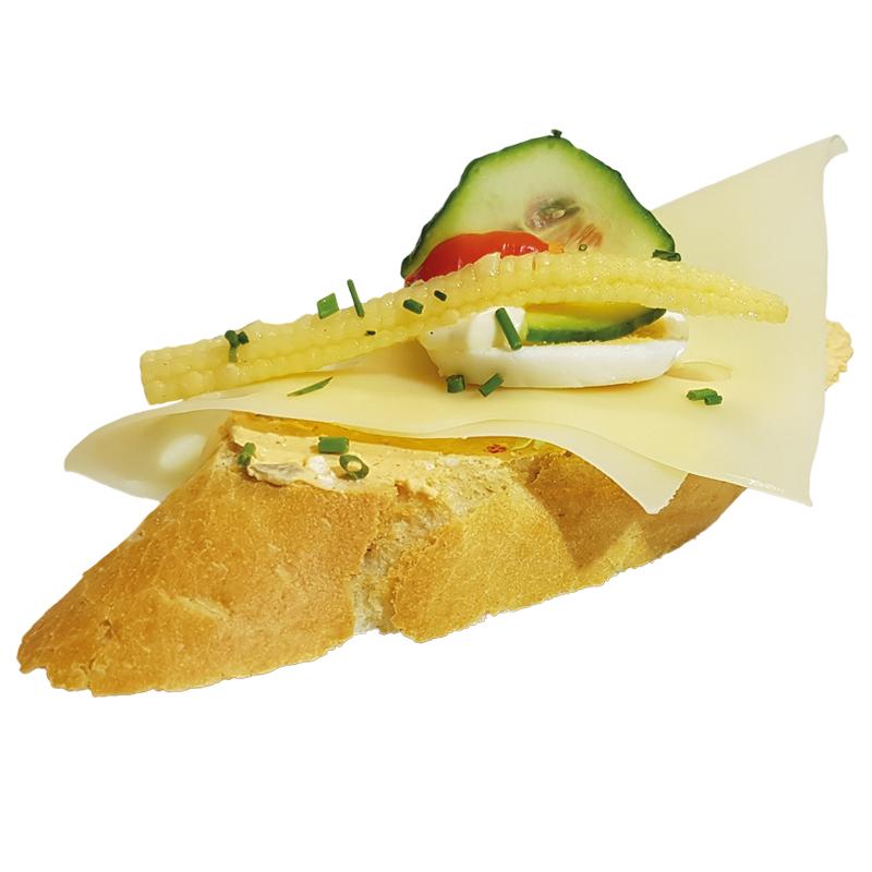Liptauer Käse Brötchen